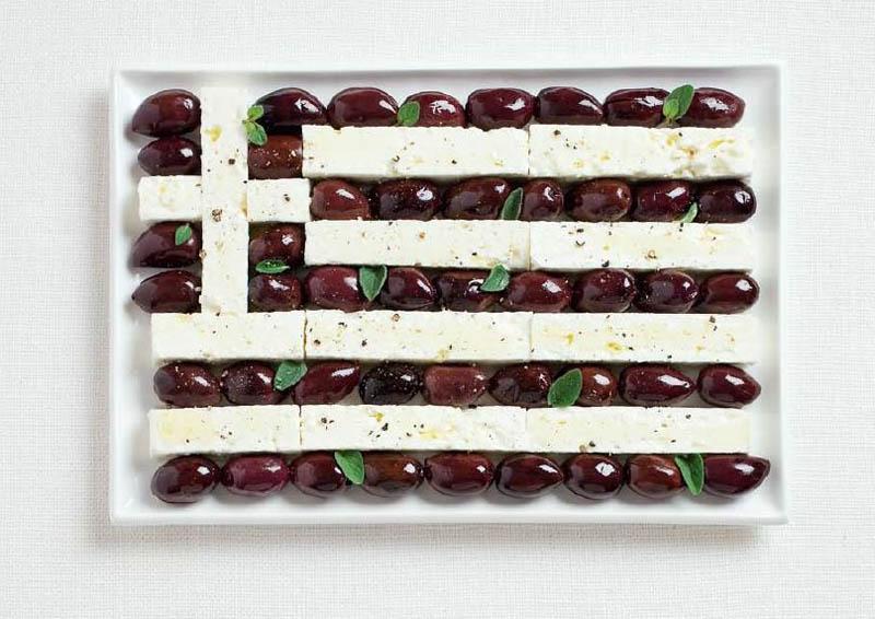 Olives noires & féta - GRÈCE