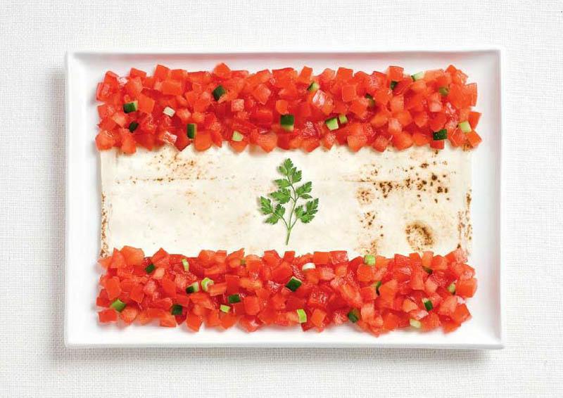 Tomates, pain pita & persil - LIBAN