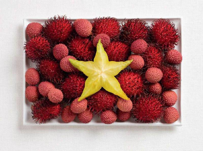 Ramboutan, lychee & carambole - VIETNAM